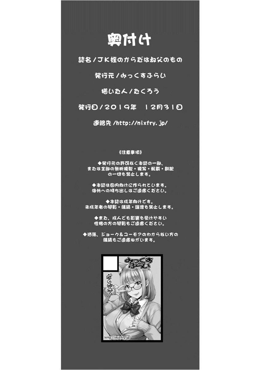 JK Mei No Karada Wa Oji No Mono