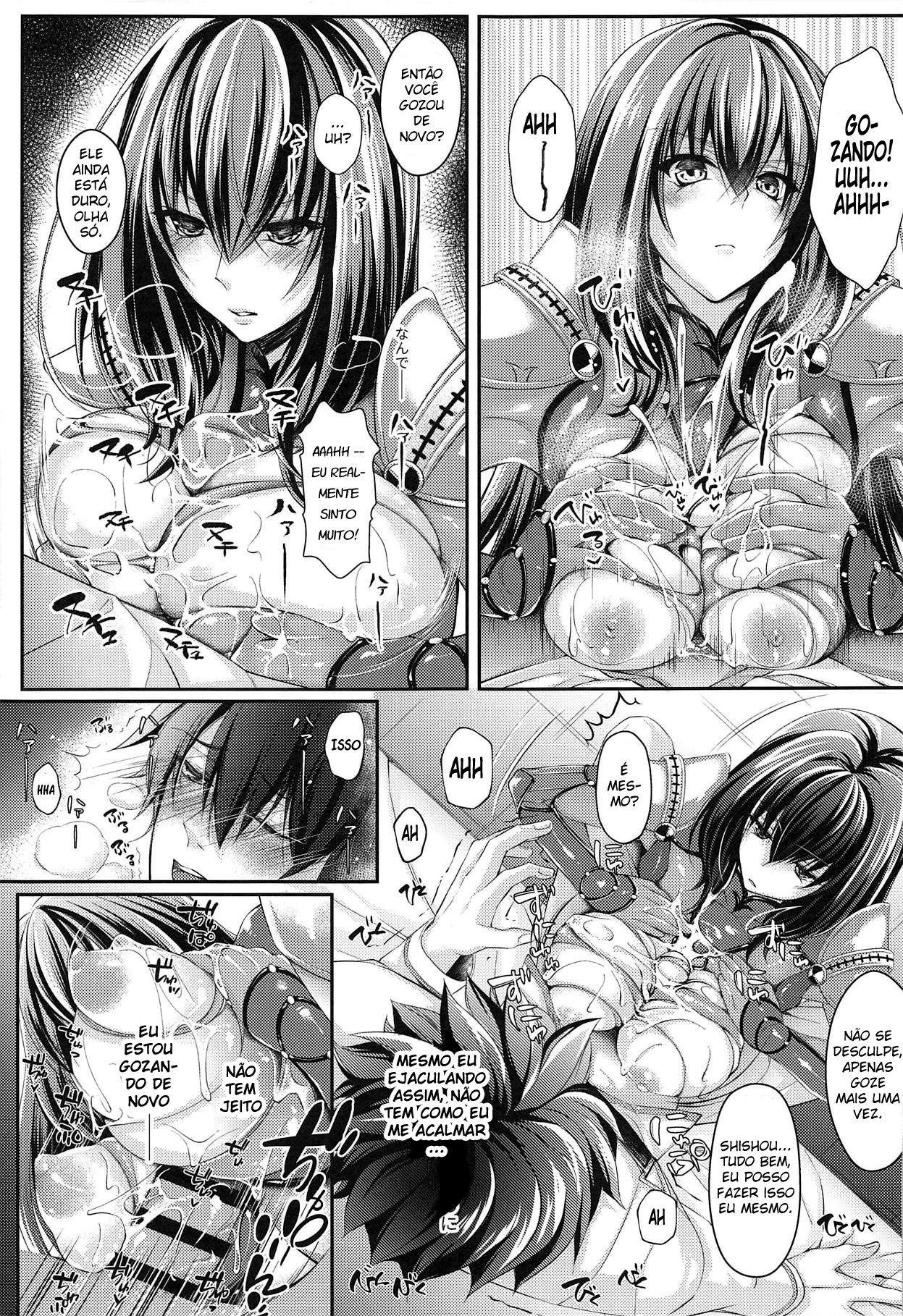 Fujimaru Ritsuka Wa Shasei Shitai
